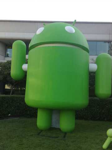 Android at Google's HQ by secretlondon123
