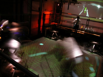 Ars Electronica | The Sensory Circus by Johannes Landstorfer 2004